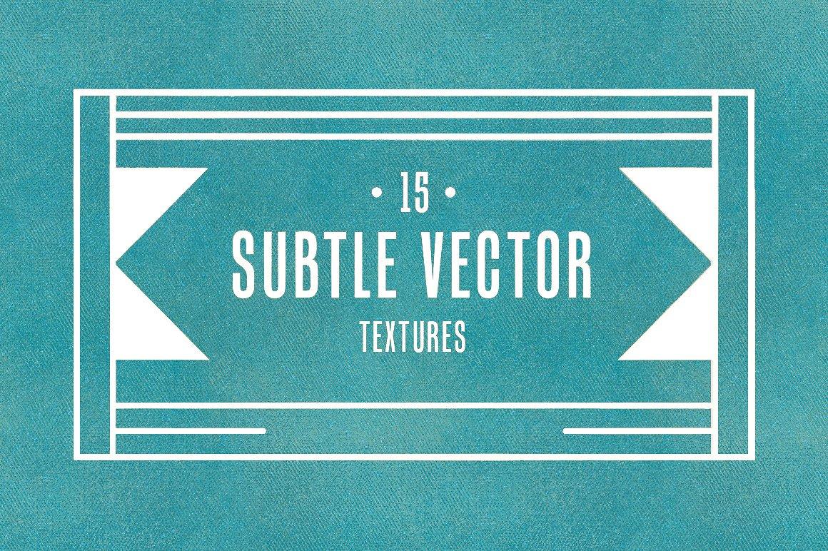 15 Subtle Vector Textures V.1