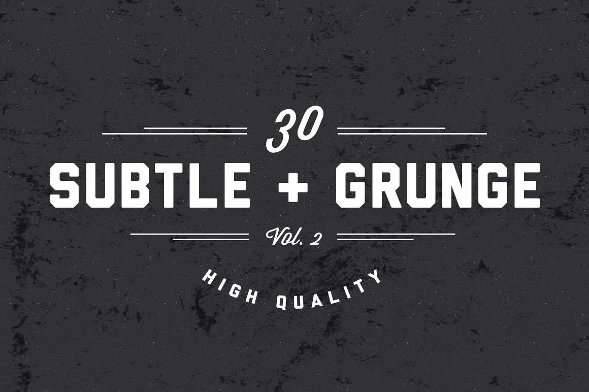 30 Very Subtle Grunge Brushes V.2