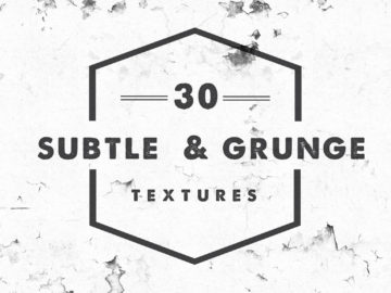 30 subtle grunge textures