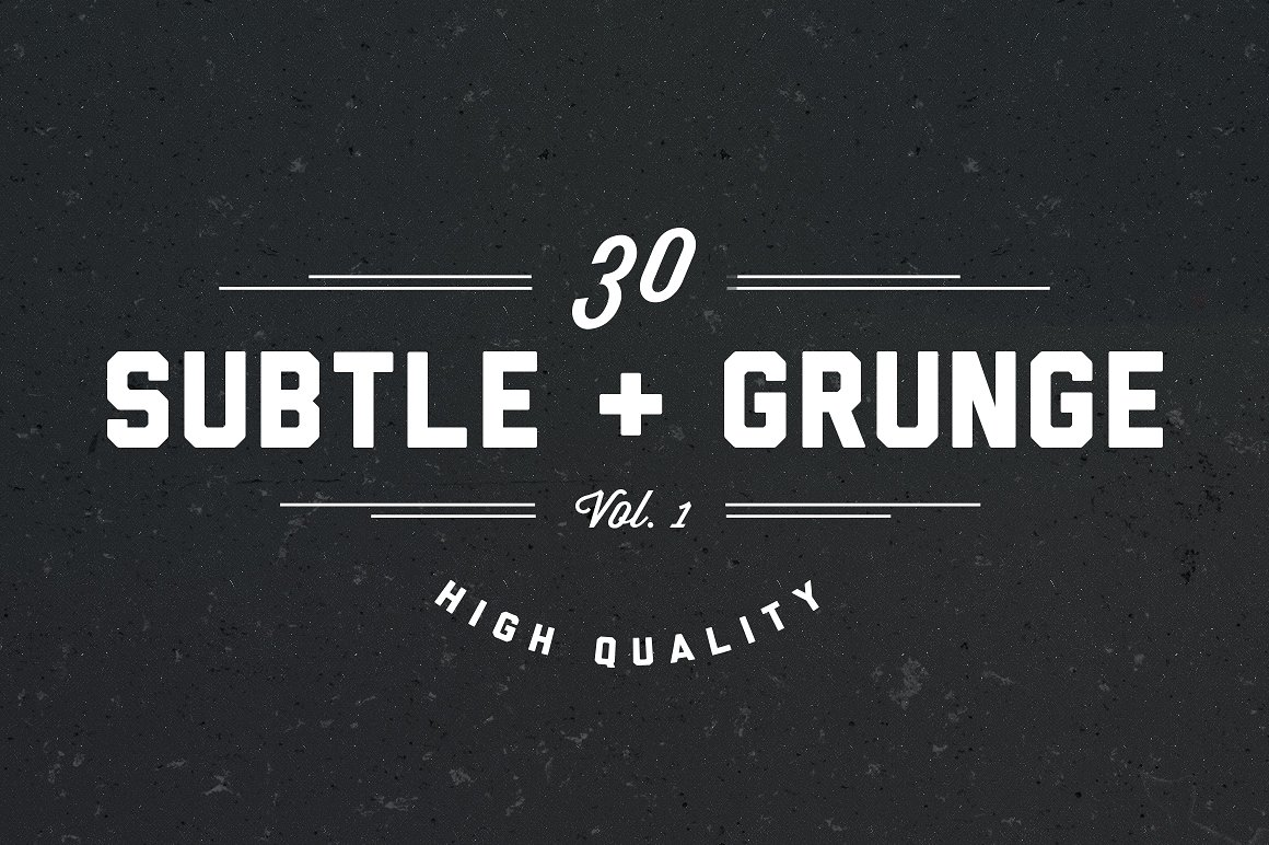 30 subtle grunge brushes
