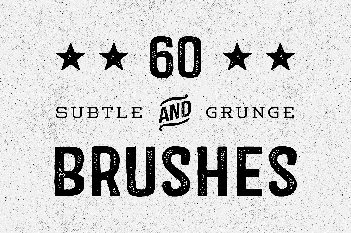 60 Subtle Grunge Brushes