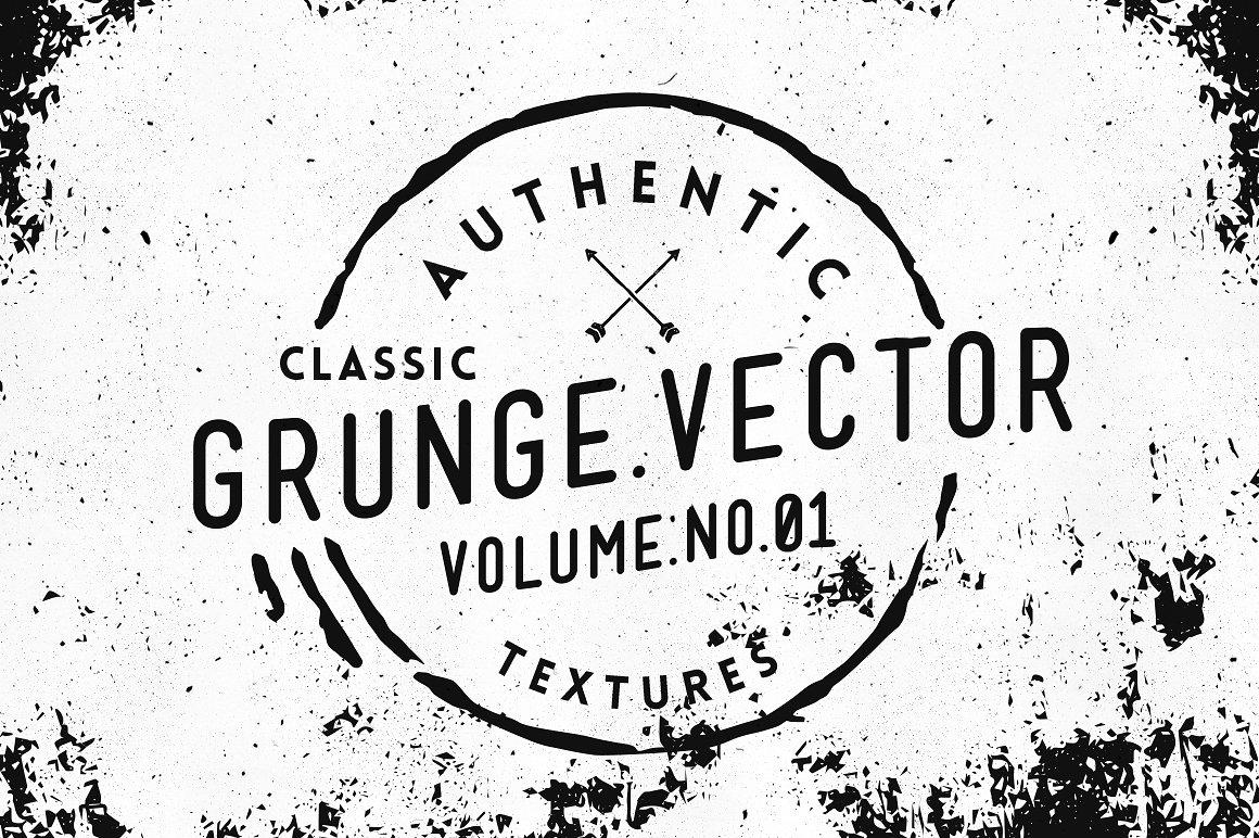 15 Grunge Vector Textures