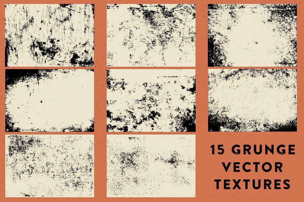 15 Grunge Textures 2