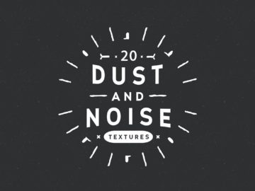 20 Dust and Noise Vector Textures